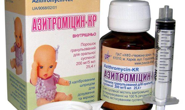 Азитромицин детям в 3 года: дозировка, как давать, инструкция по применению