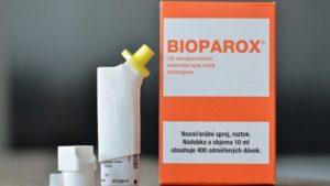Спрей Биопарокс для лечения осложнений заболеваний дыхательных путей: инструкция по применению для детей