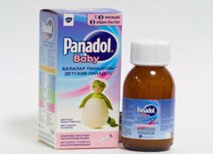 Обезболивающий сироп Панадол: инструкция по применению для детей