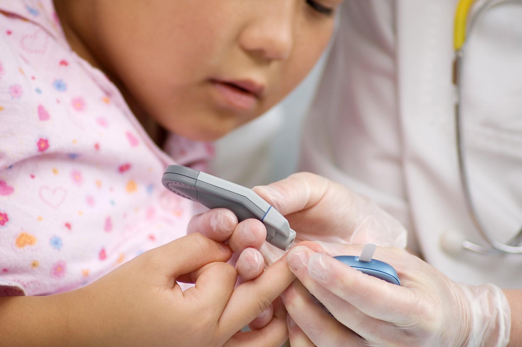 От чего появляется диабет у ребенка