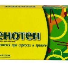 Успокоительный препарат Тенотен для детей: инструкция по применению