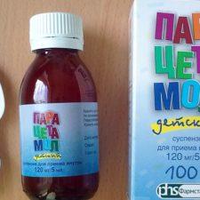 Жаропонижающий и обезболивающий сироп Парацетамол: инструкция по применению для детей