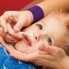 Закапывание Диоксидина в нос детям: инструкция по правильному применению