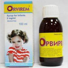 Противовирусный сироп Орвирем для детей: инструкция по применению