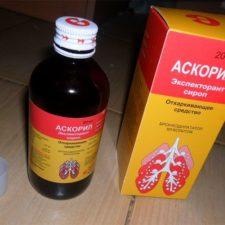 Сироп для лечения кашля Аскорил: инструкция по применению для детей