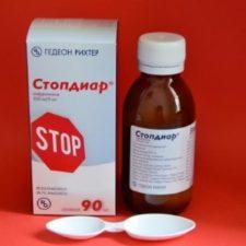 Стопдиар от кишечных расстройств: инструкция по применению для детей